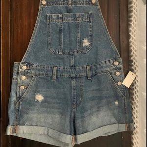 Aero Overall Shorts
